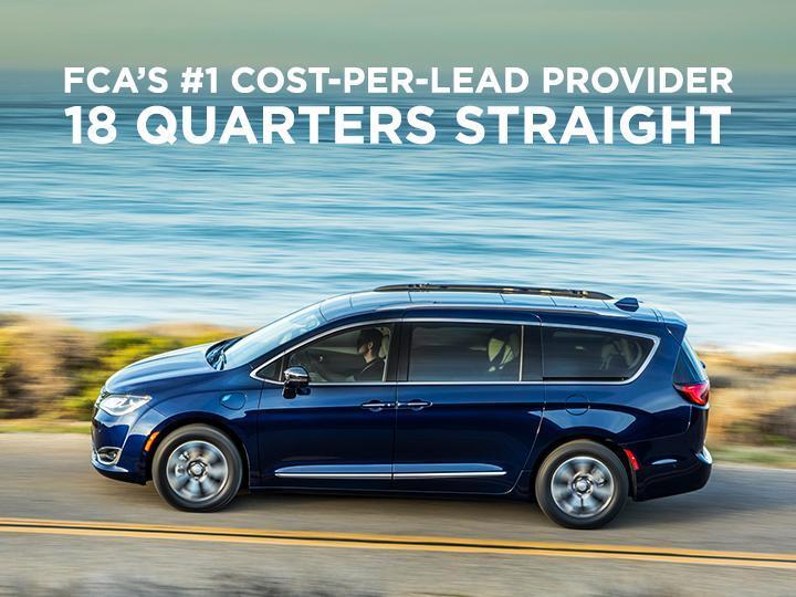 #1 cost-per-lead provider