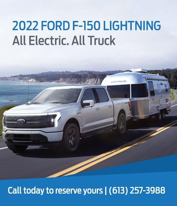 2022 Ford F-150 Lightning | Carleton Place Ford
