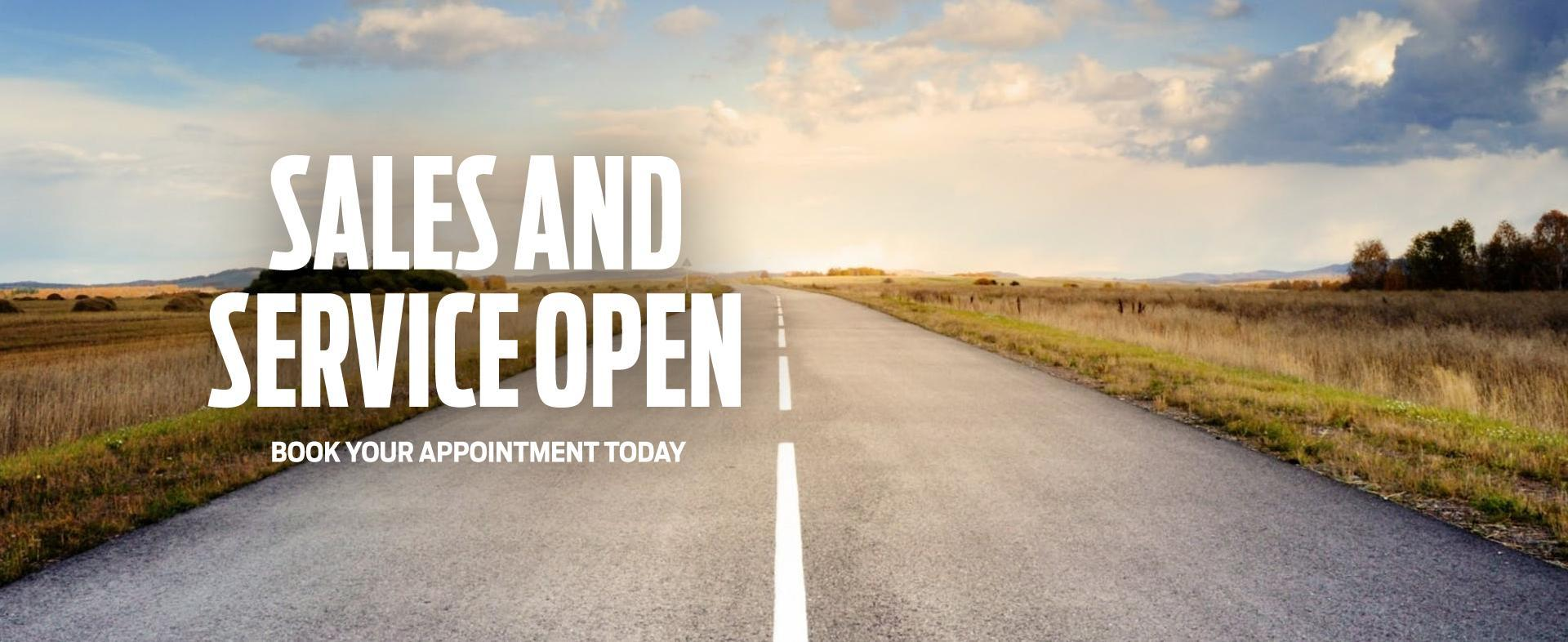 Sales and Service are Open | Carleton Place Ford