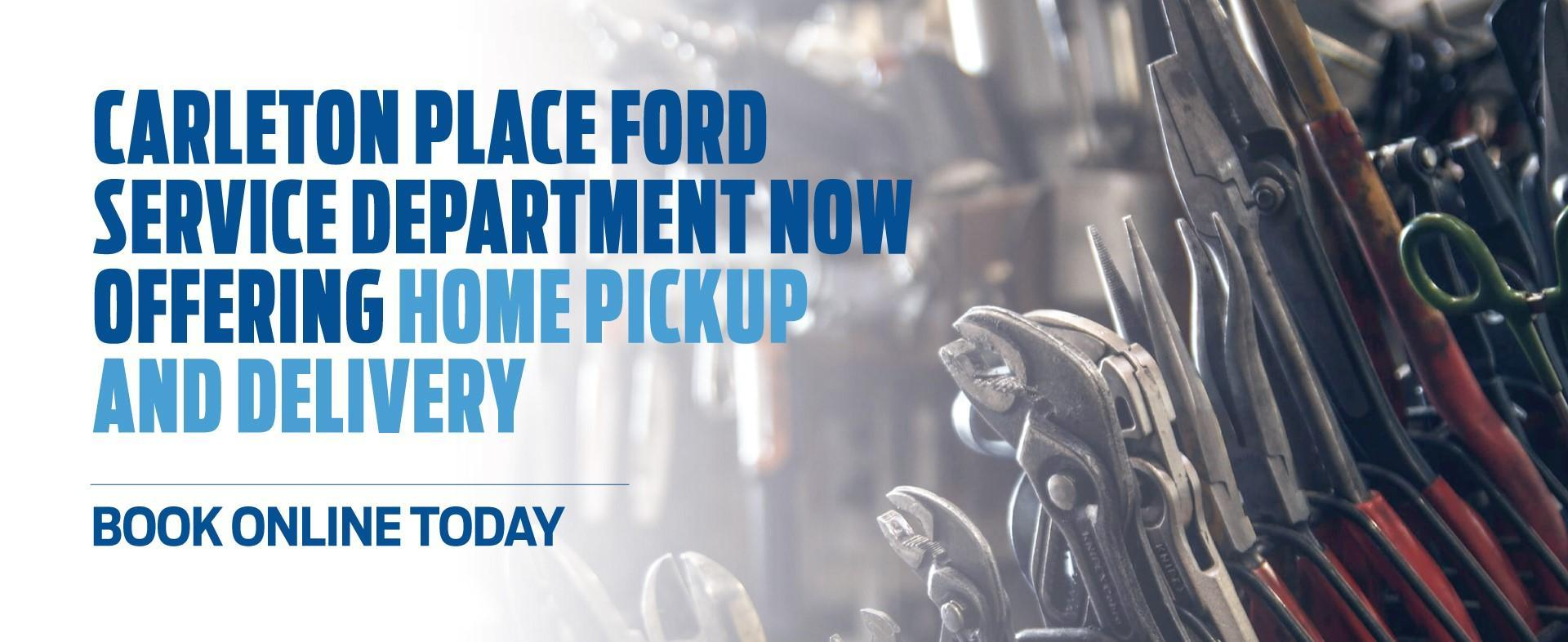 Carleton Place Ford Service Department