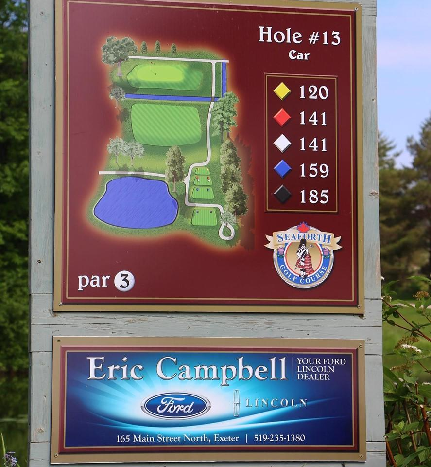 Eric Campbell Ford - Hole Sponsor