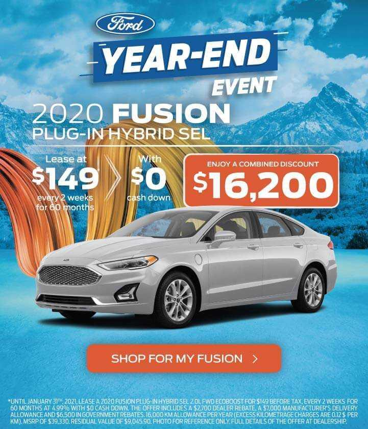 2020 Fusion PHEV
