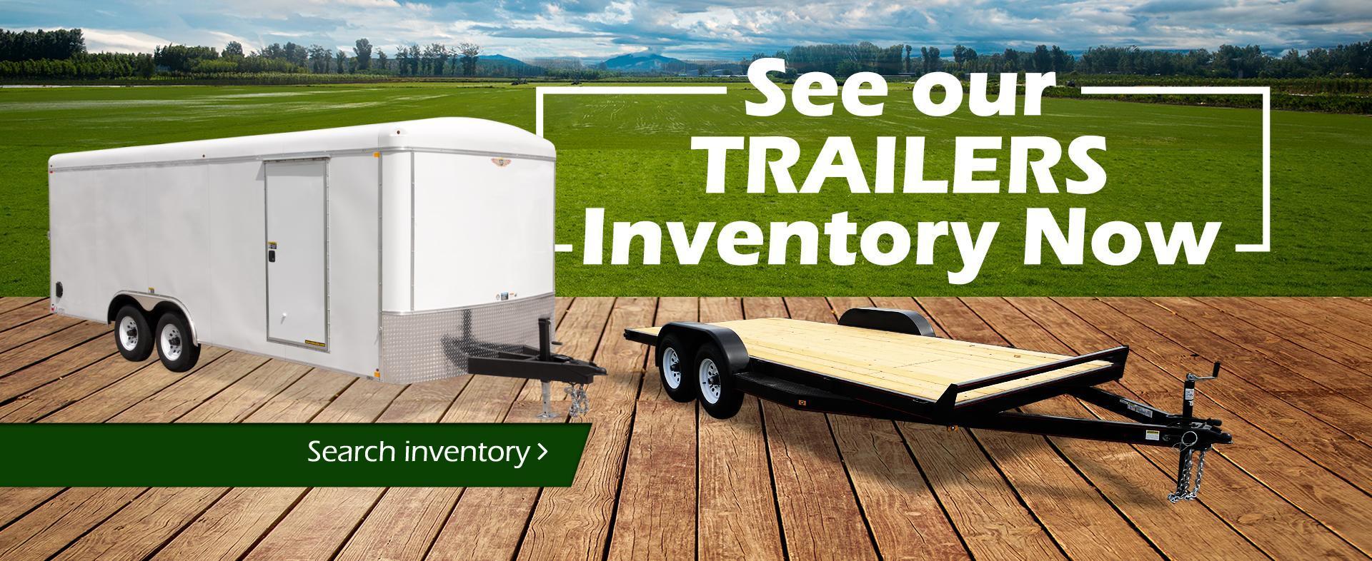 Trailer Inventory Guay's garage