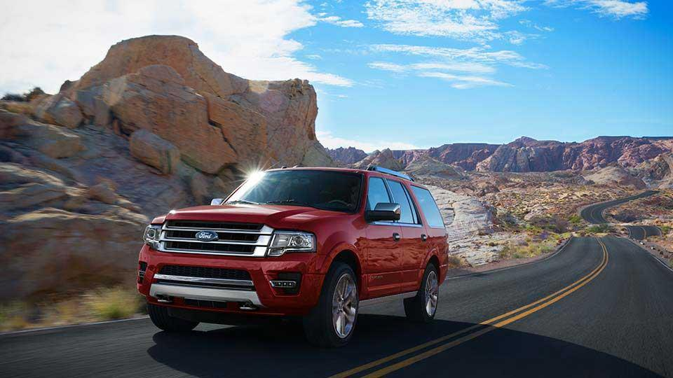 2017 Ford Expedition Platinum, Ruby Red Metallic