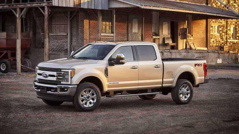 2017 Ford Super Duty King Ranch Crew Cab