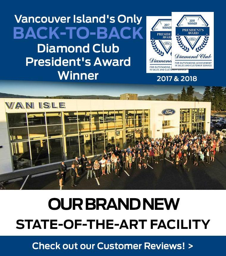 Van Isle Ford- President's Award