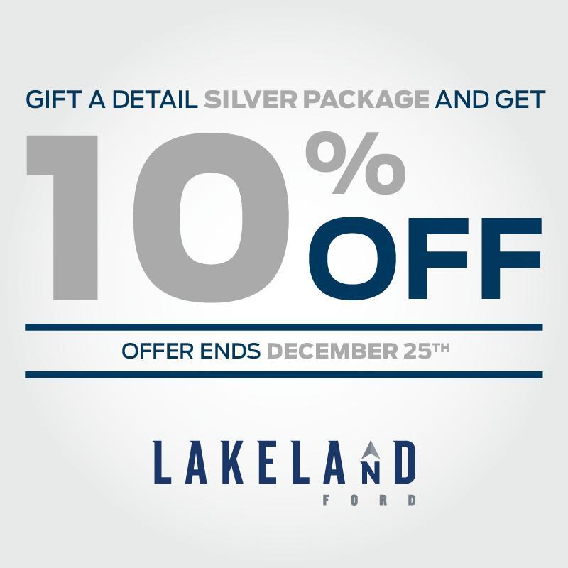 Silver Detail Christmas Discount