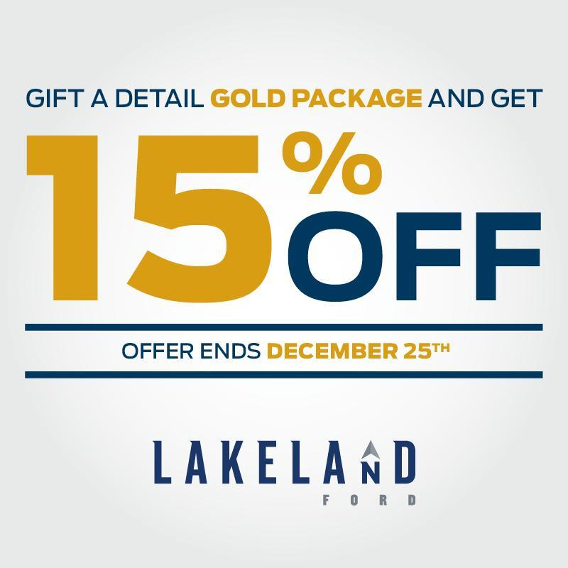 Gold Detail Christmas Discount