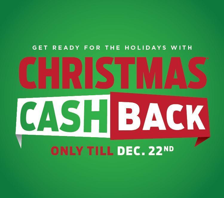 Christmas Cash Back Mobile