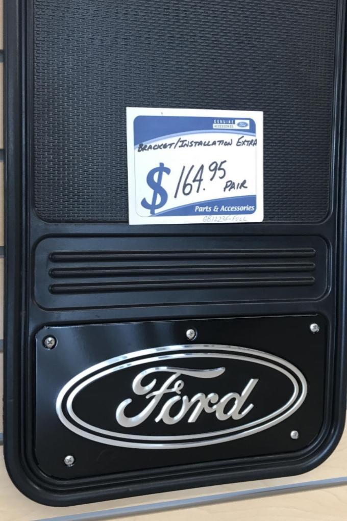 Black Ford Emblem