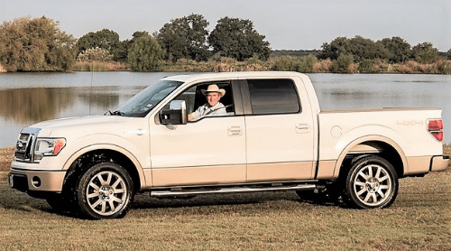 President George W Bush Ford F-150