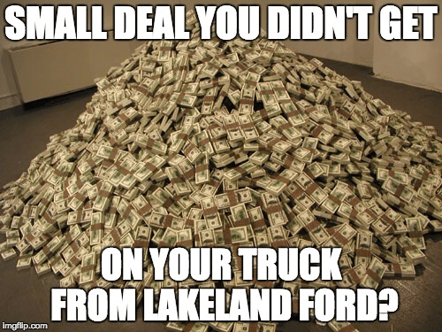 small deal from lakeland ford