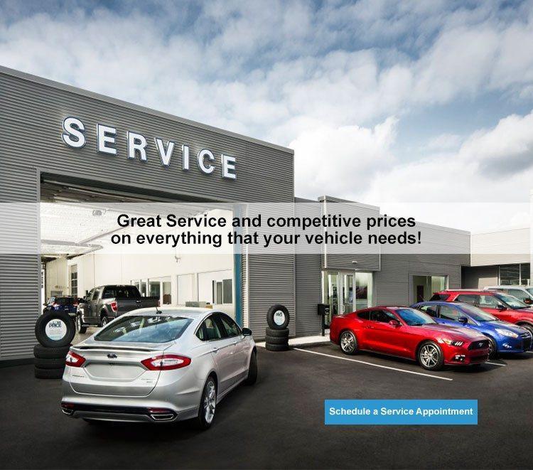 Service Center Webbs Ford