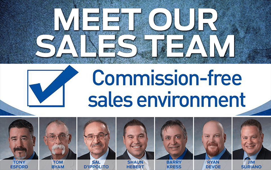 Meet Our Sales Team