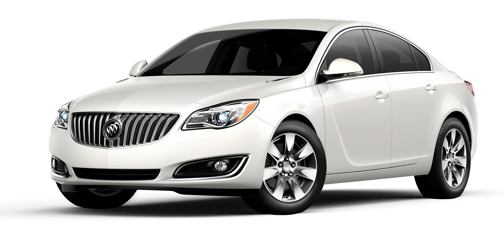 2017 Buick Regal White