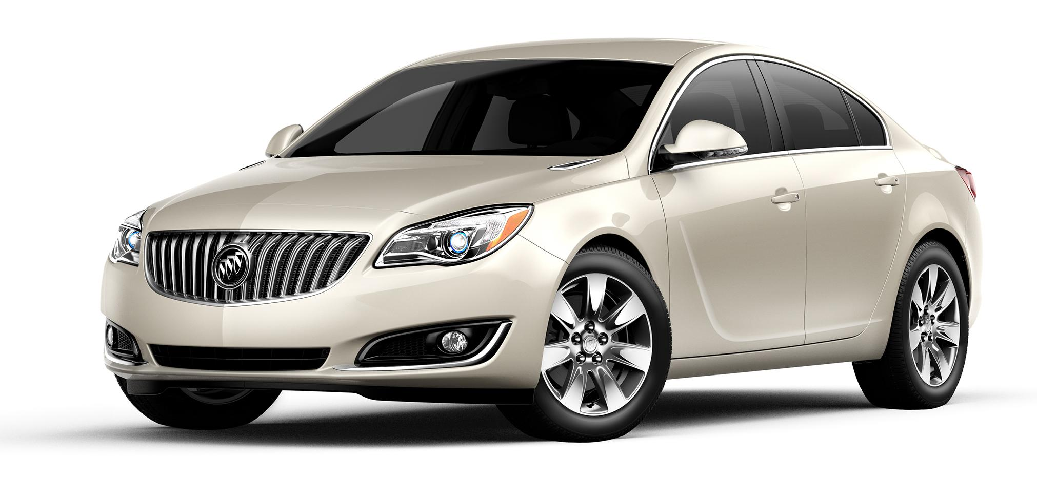 2017 Buick Regal Sparkling Silver