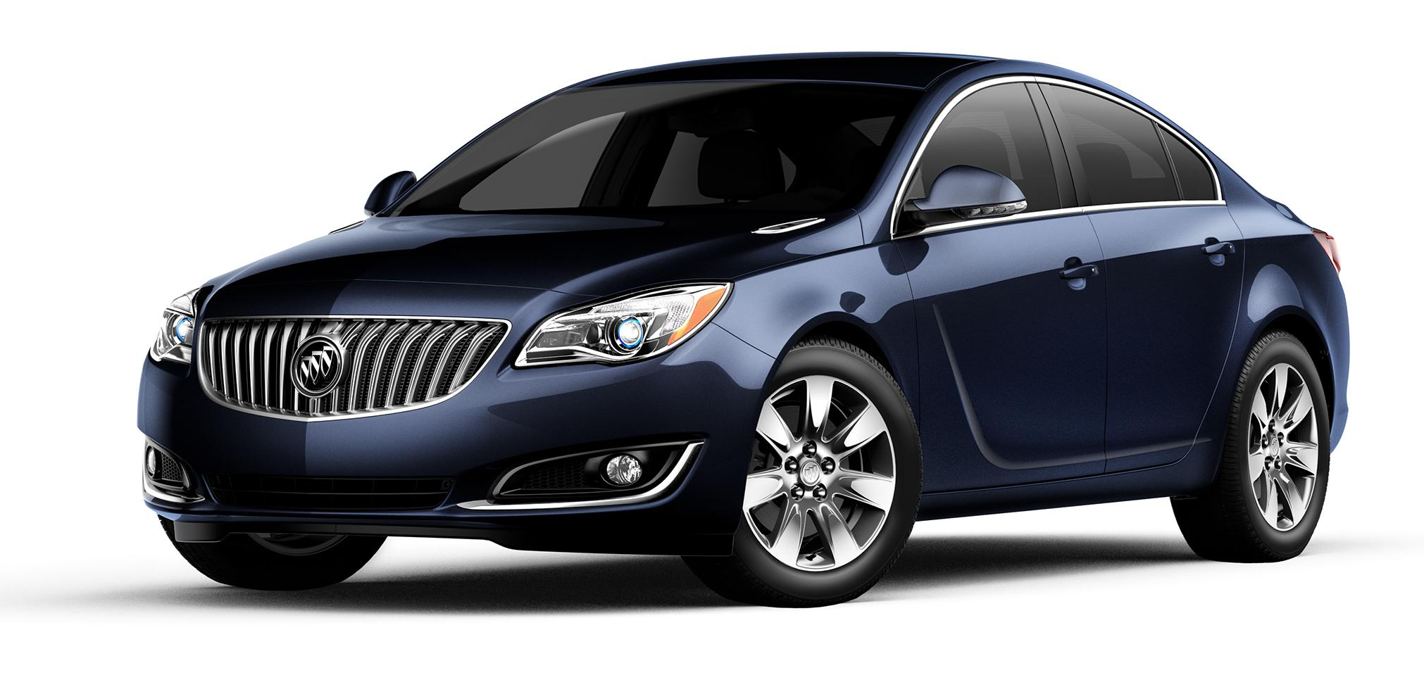 2017 Buick Regal Blue