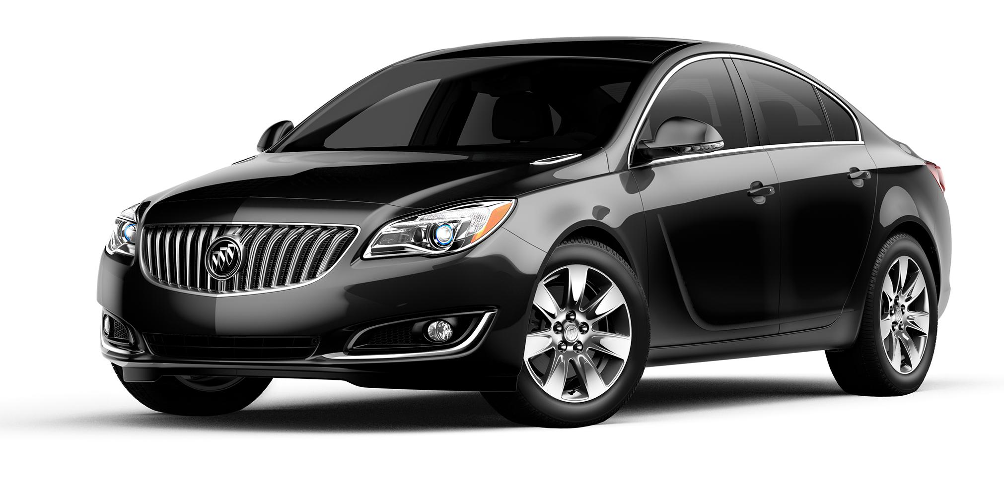 2017 Buick Regal Black