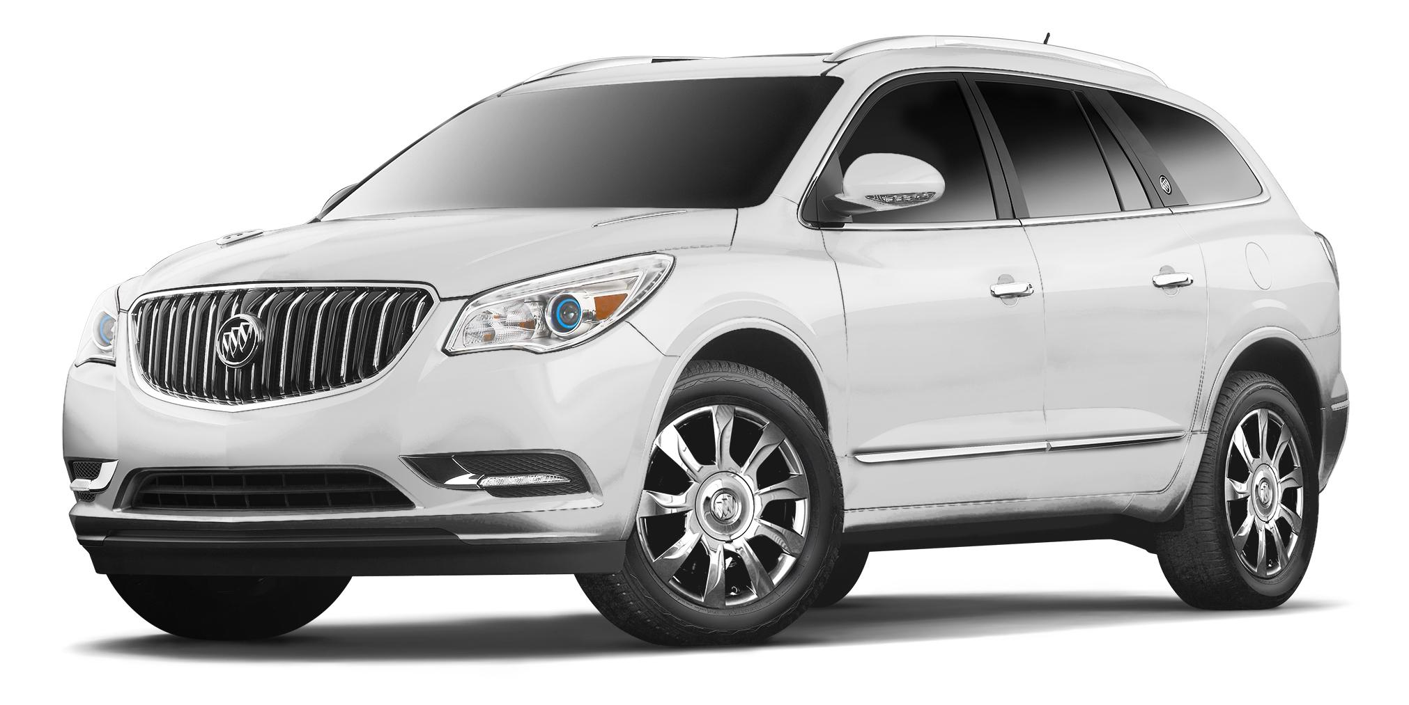 2017 Buick Enclave White Frost Tricoat