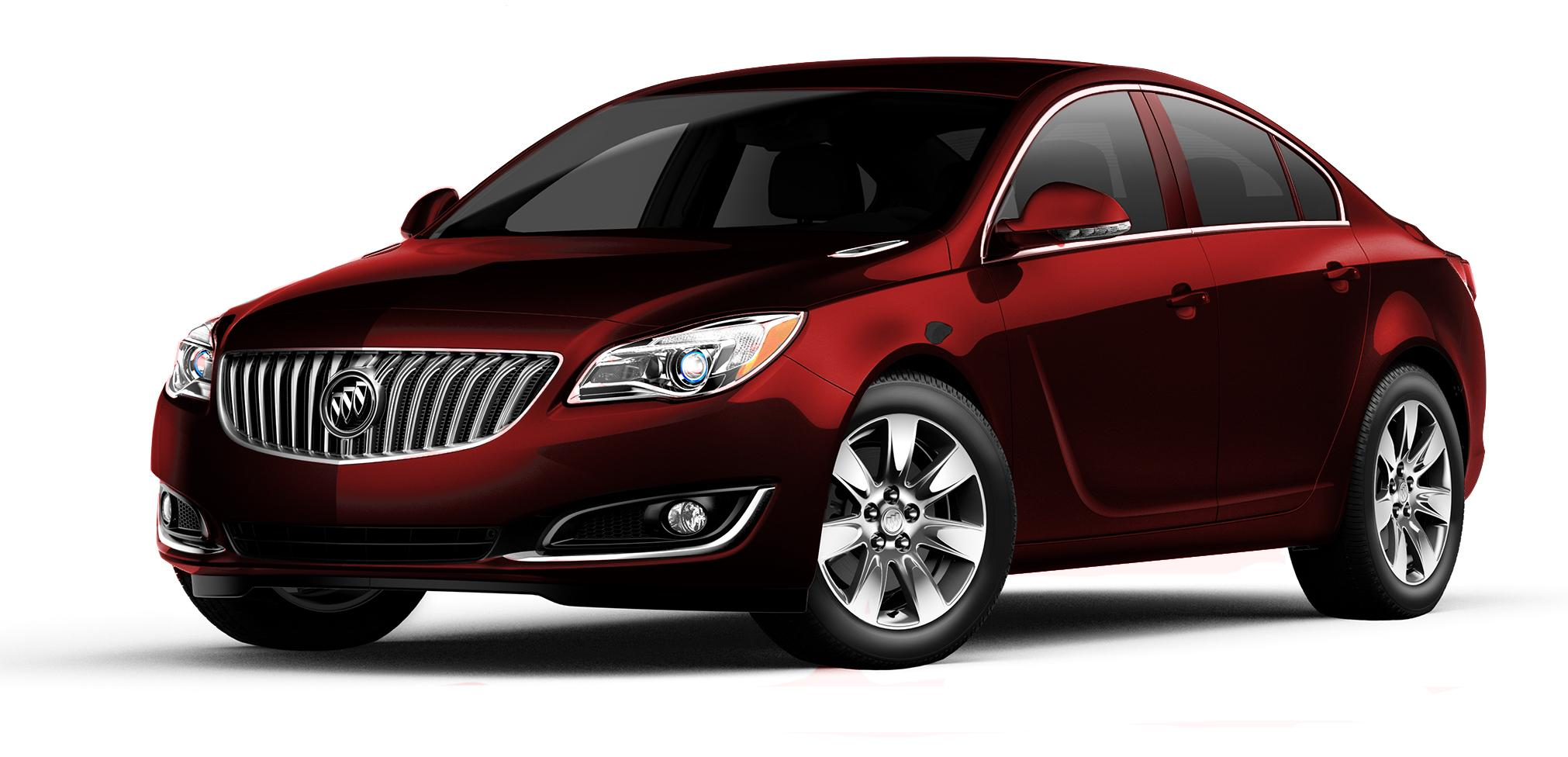 2017 Buick Regal Crimson