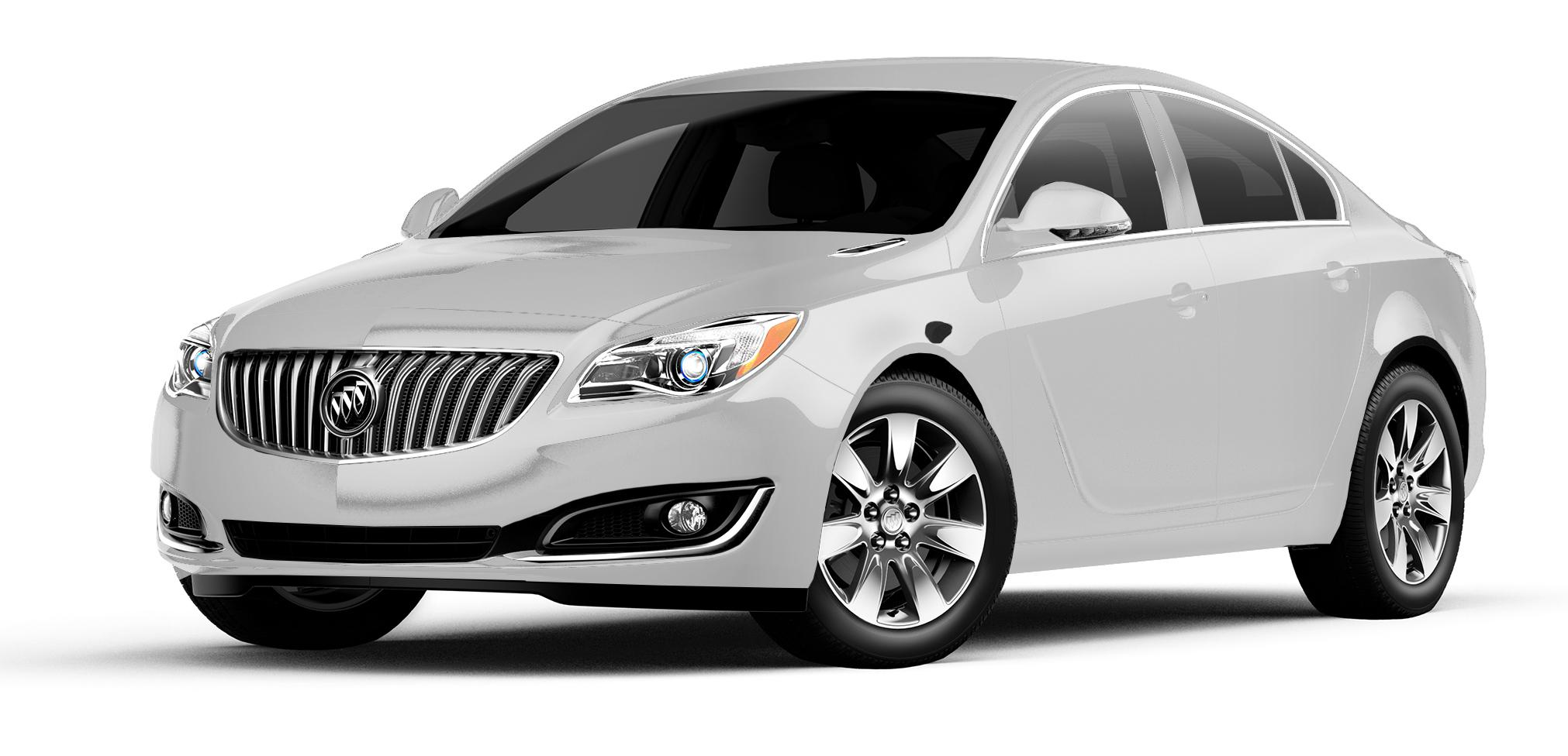 2017 Buick Regal White Frost