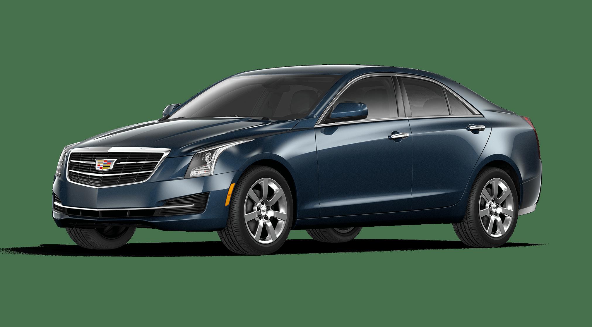 Dark Adriatic Blue Cadillac ATS