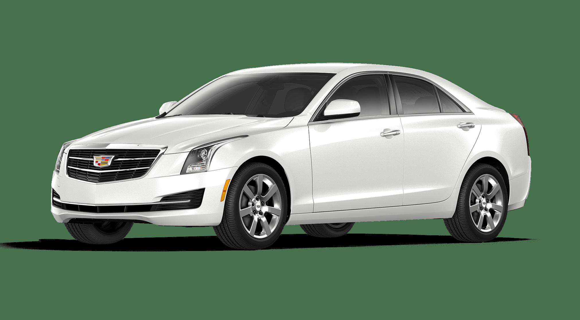 Crystal White Tricoat Cadillac ATS