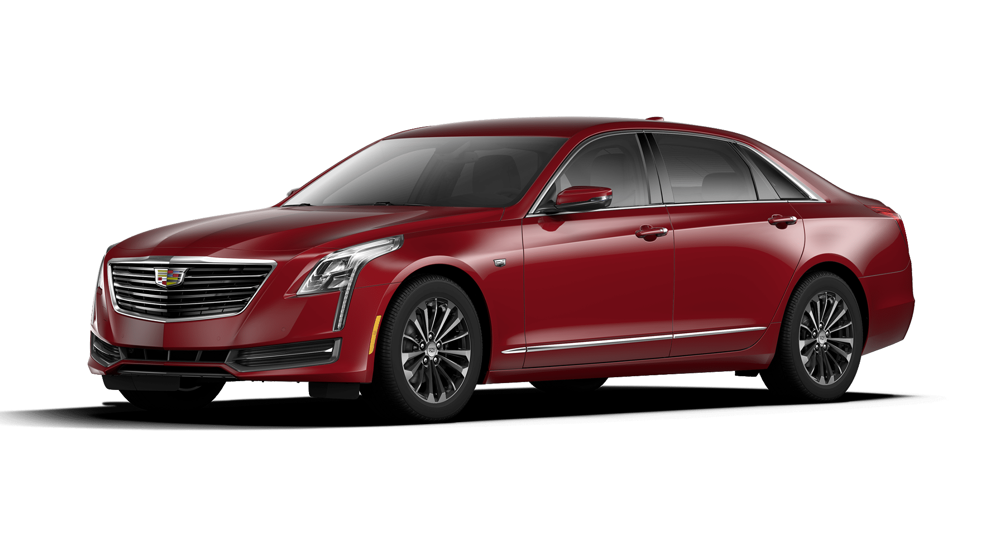 2017 Cadillac CT6 Red Passion Tincoat