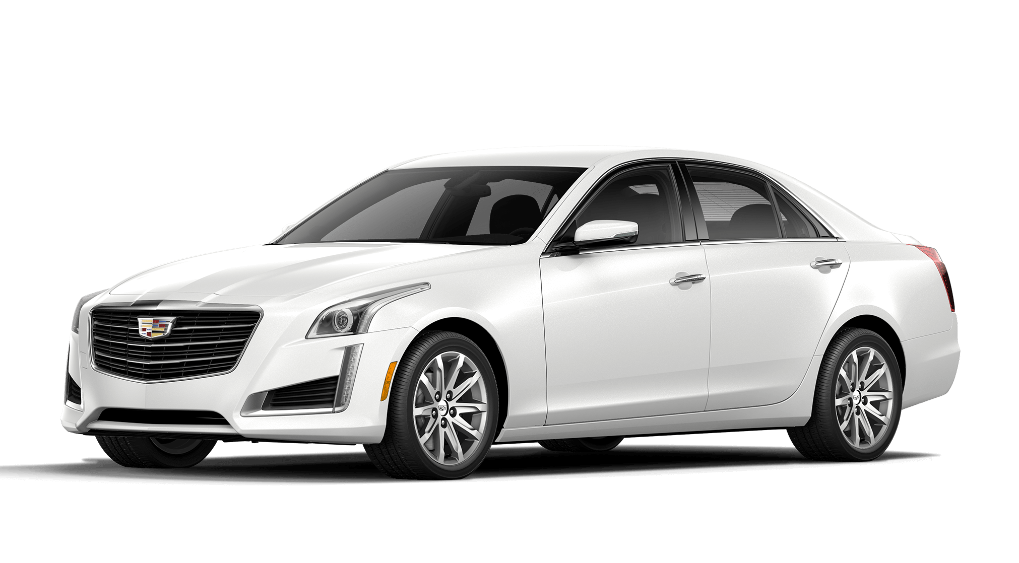 Cystral White Tricoat Cadillac CTS