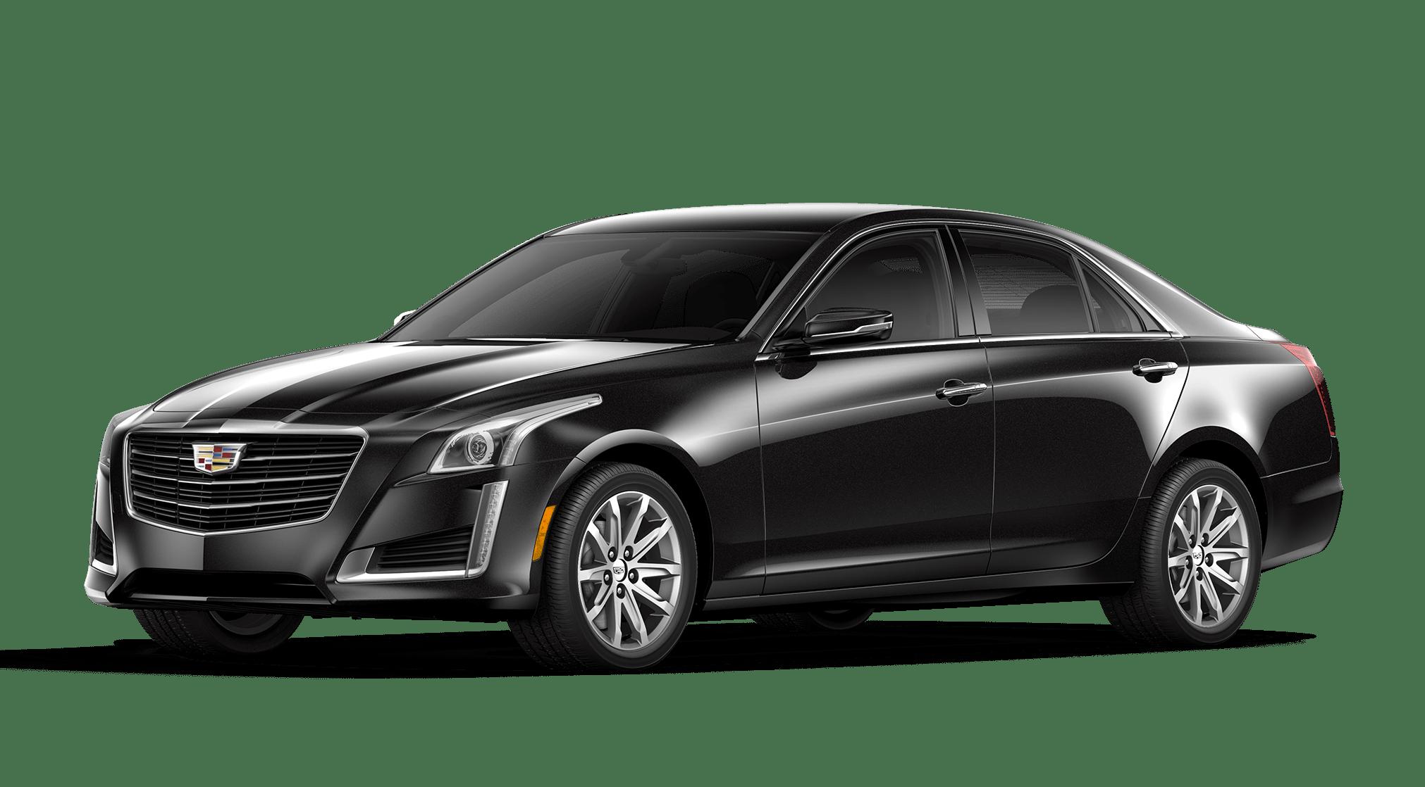 Stellar Black Metallic Cadillac CTS
