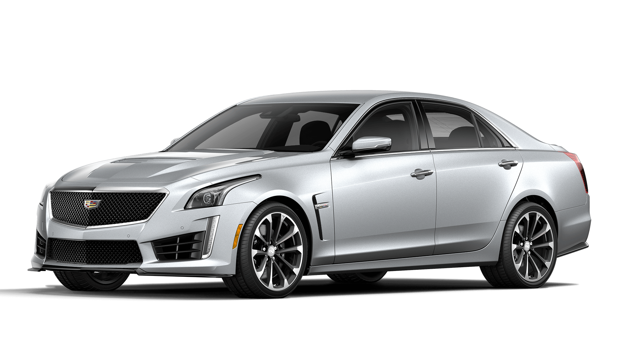Radiant Silver Cadillac CTS-V