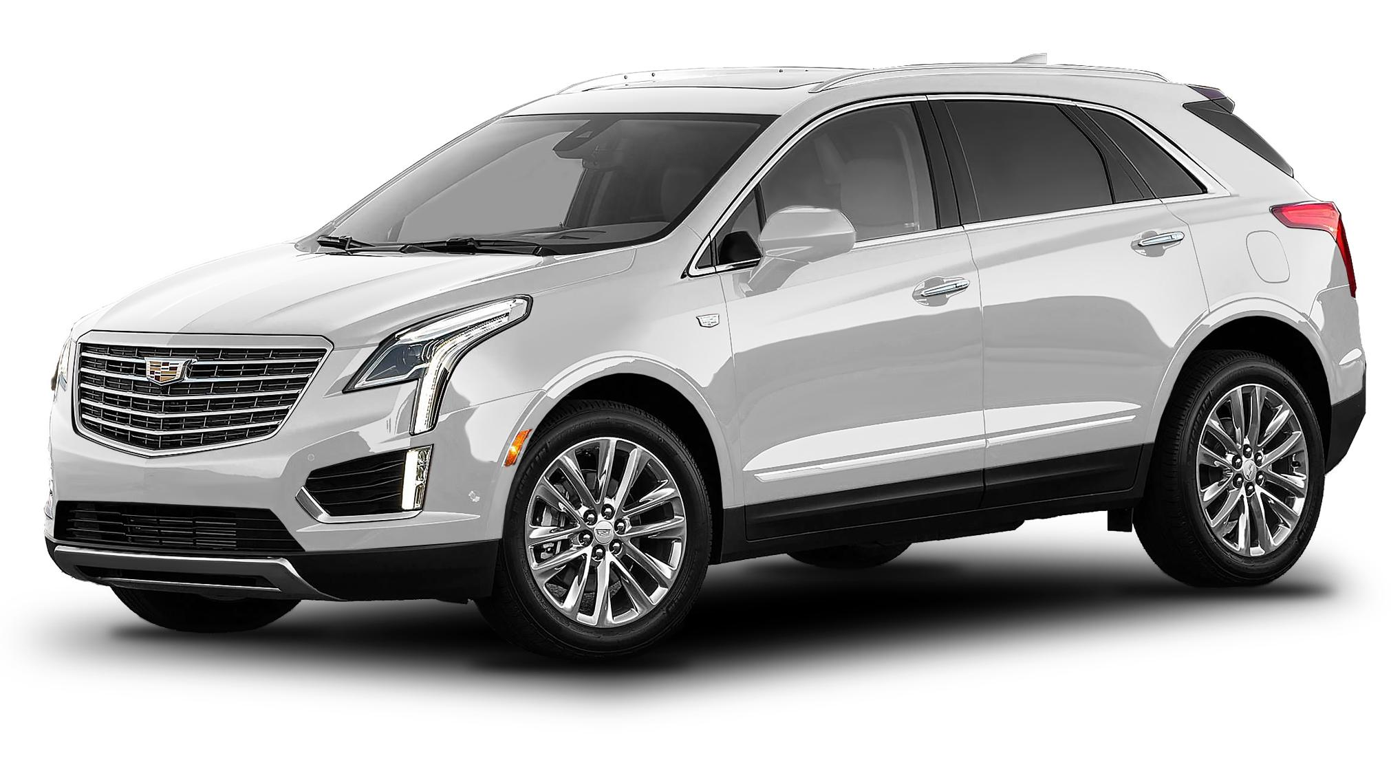 Cadillac XT5 Crystal White Tricoat