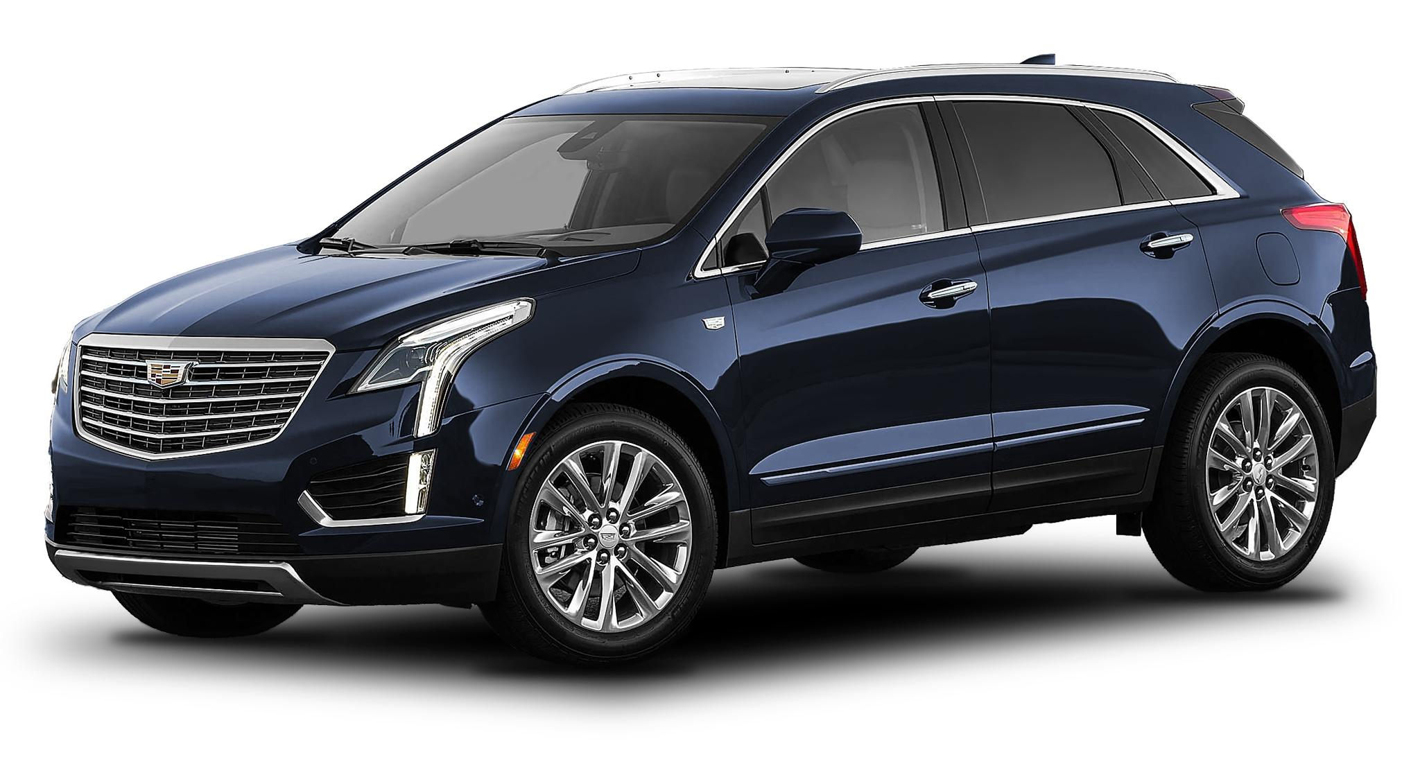 Cadillac XT5 Dark Adriatic Blue Metallic