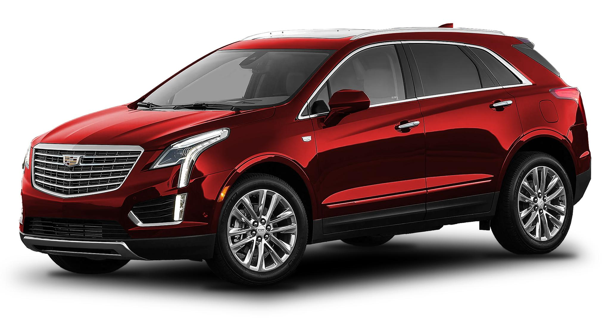 Cadillac XT5 Red Obsession Tintcoat