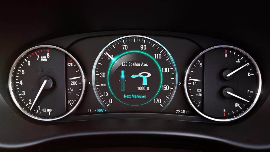 Blog Buick Envision Odometer