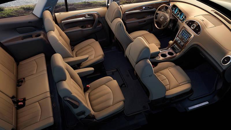 2017 Buick Enclave Interior winnipeg
