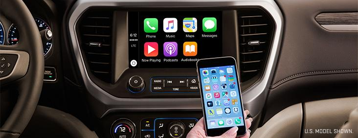 2017 GMC Acadia Apple CarPlay