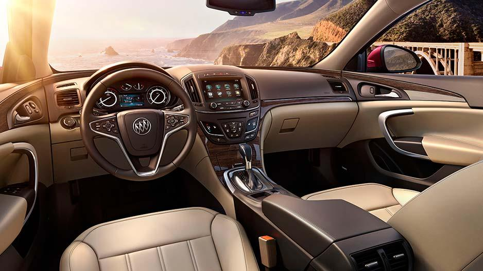 2017 Buick Regal Interior