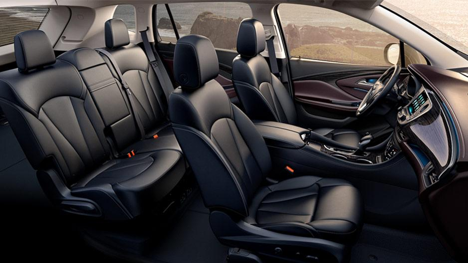 2017 Buick Envision Interior Winnipeg