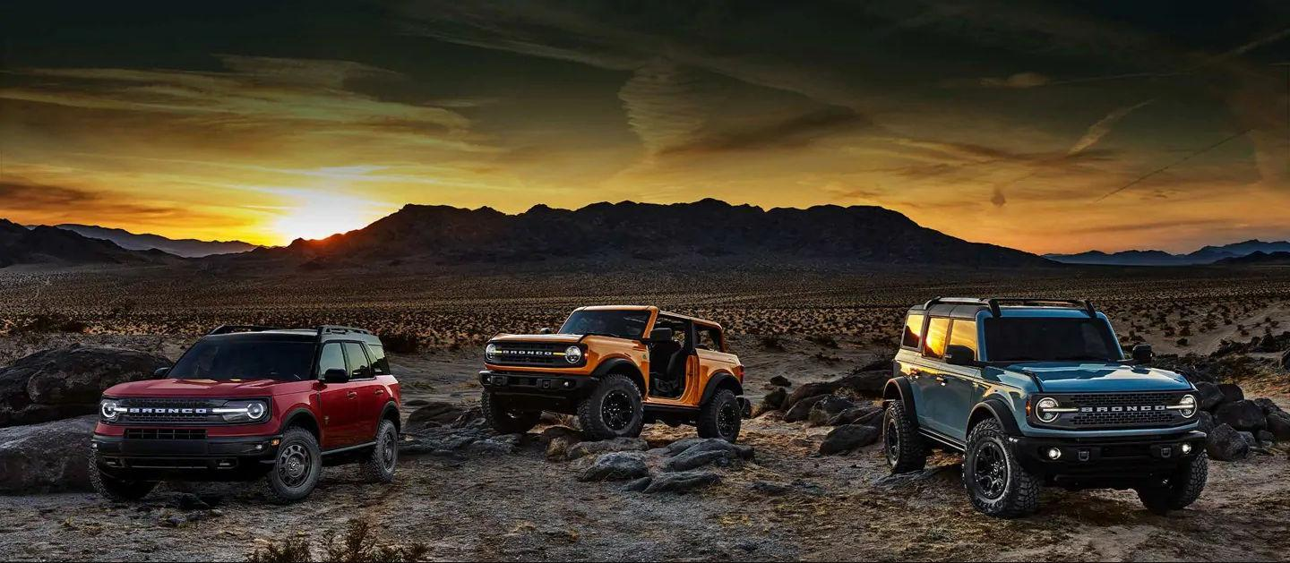 All new Ford Bronco and Bronco Sport. Available late 2020 from Metro Ford in Calgary, Alberta