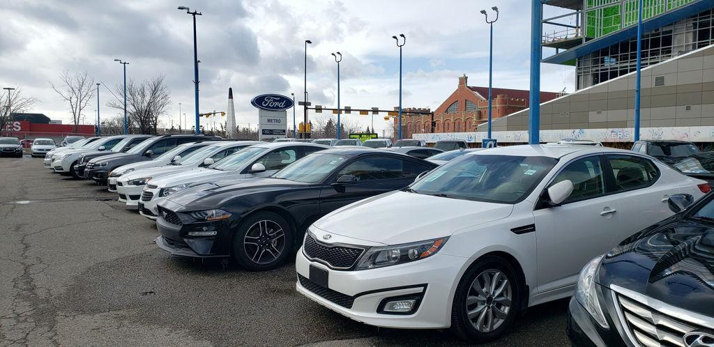 Used Ford, Kia, Hyundia, and other makes for sale at Metro Ford in Calgary, AB