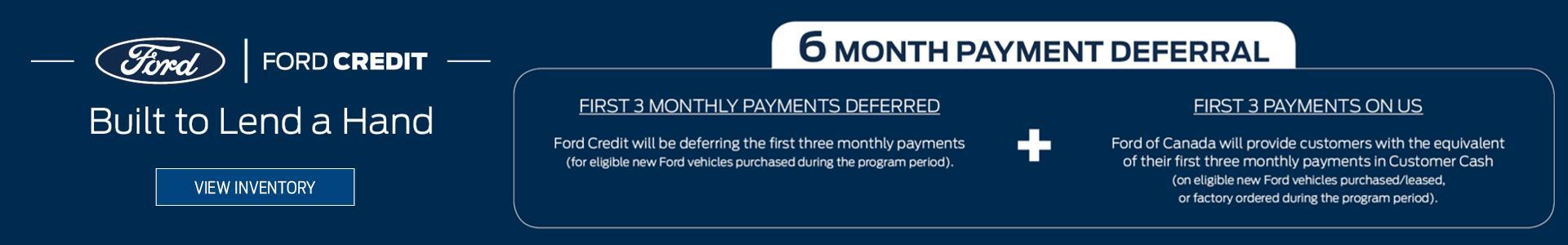Metro Ford, Ford Credit Lend a Hand Program, serving Calgary, Alberta