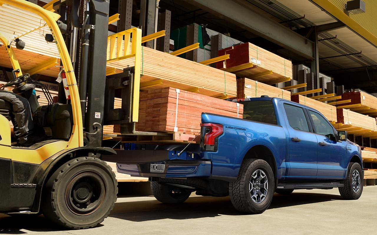 2022 F-150 Lightning at Metro Ford Calgary - Payload