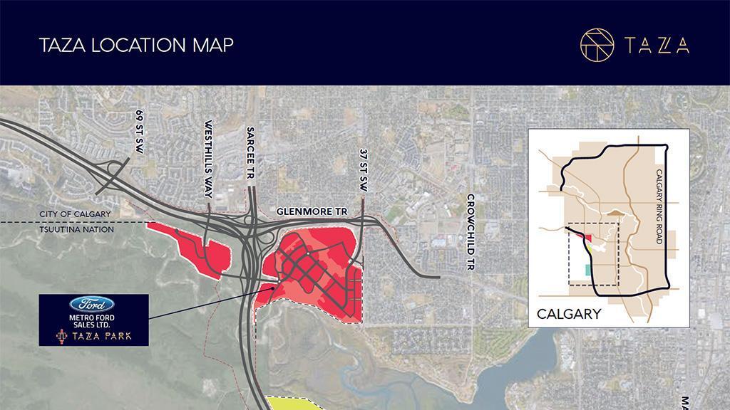 Metro Ford at Taza Park Location Map