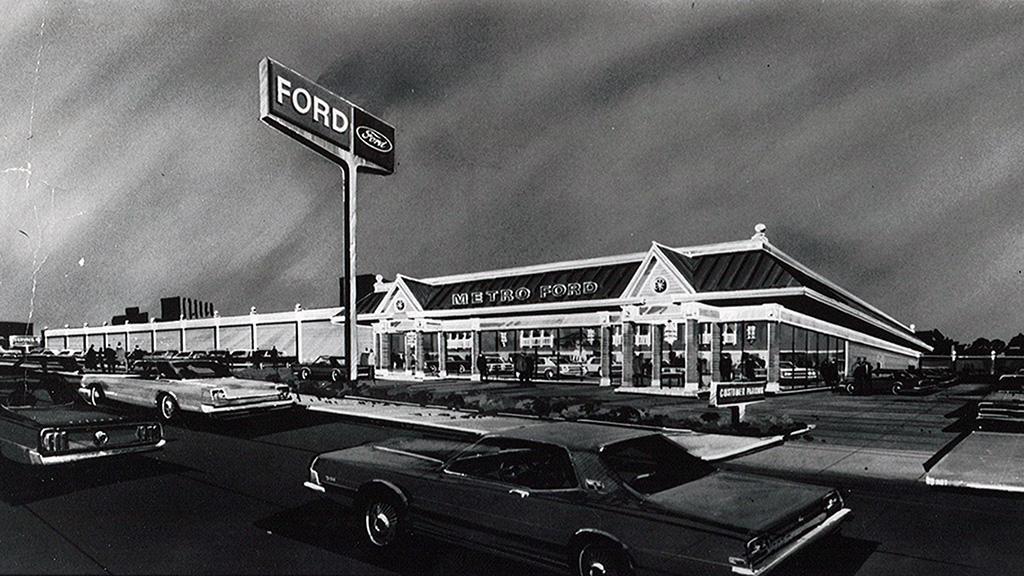 Metro Ford 1970 Concept