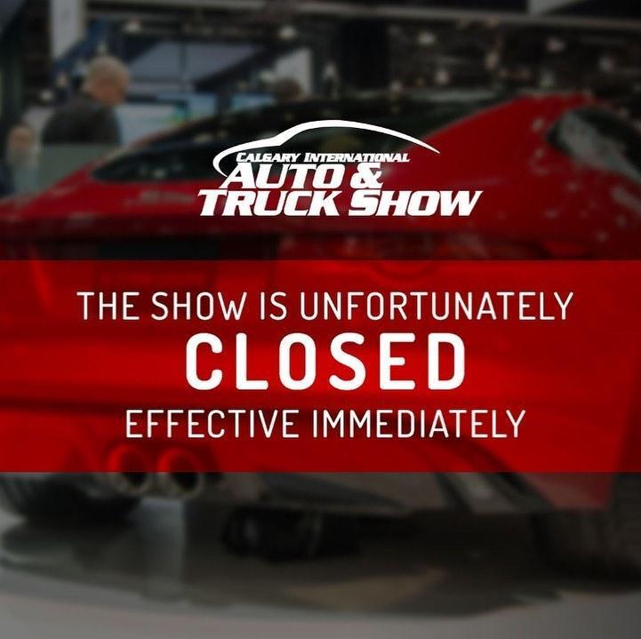 Calgary-Auto-Show-Cancelled