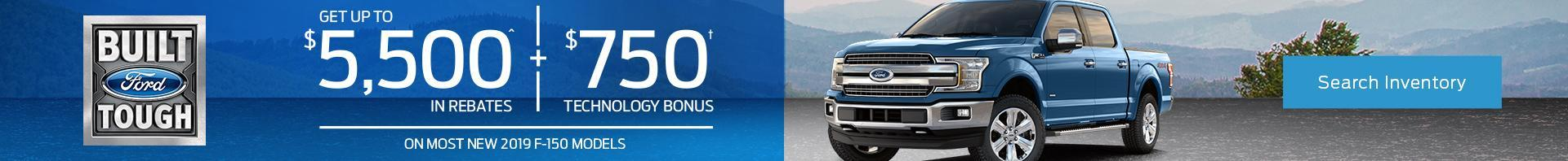 April F-150 offer at Metro Ford