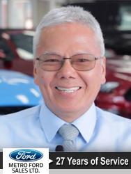 Clement Wong, Account Manager at Metro Ford