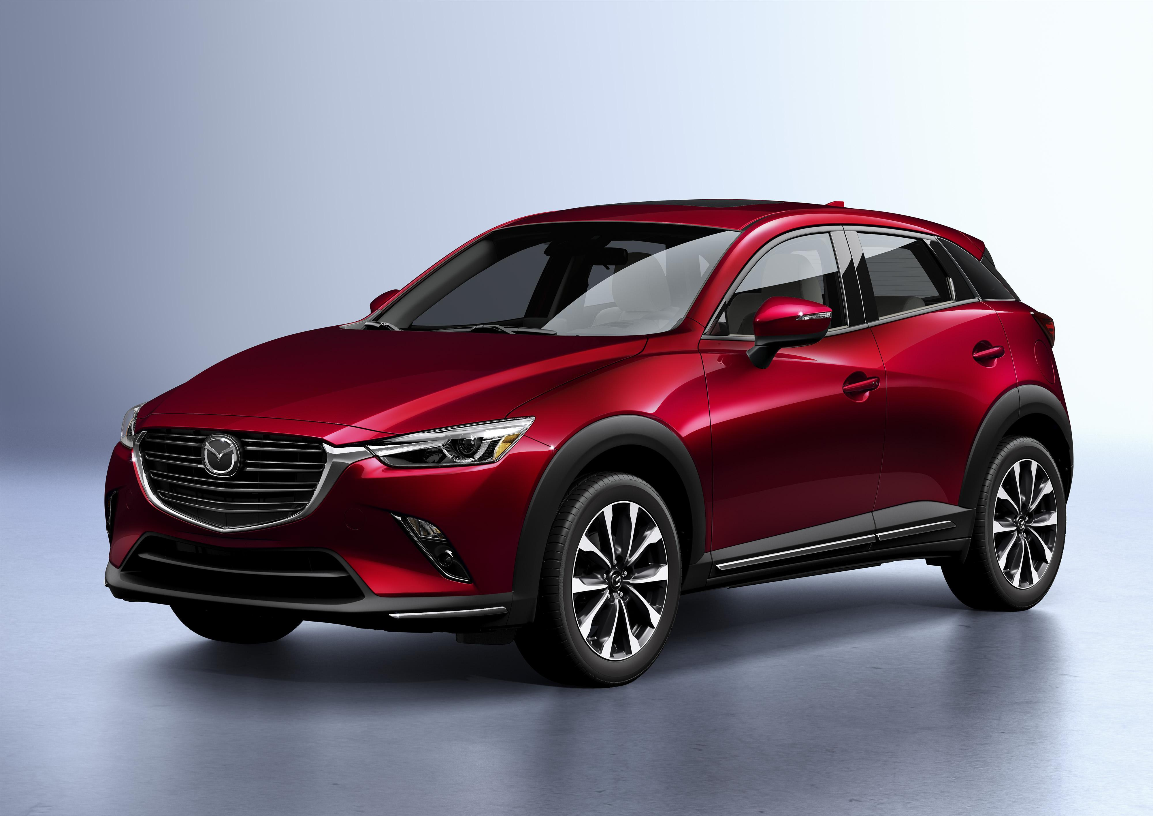 Apple CarPlay & Android Auto Inside 2019 Mazda CX-3