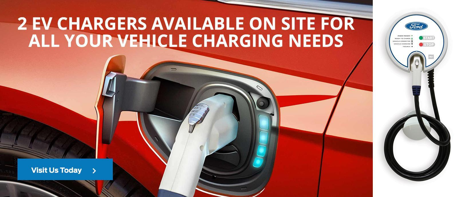 2 EV Chargers Available